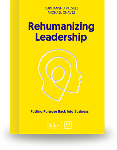 Rehumanizing Leadership Book